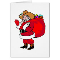 Santa - Greeting Card