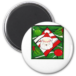 Santa Greets You Magnet