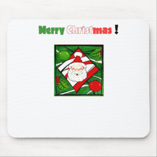 Santa Greets You Mouse Pad