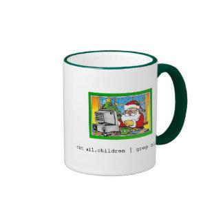 Santa Grep Mugs