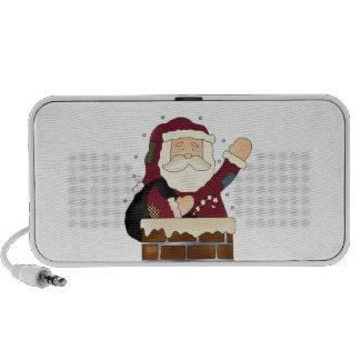Santa Happy Holidays Travelling Speaker