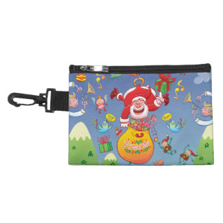 Santa has a Zeppelin to Deliver Christmas Gifts Accessory Bag