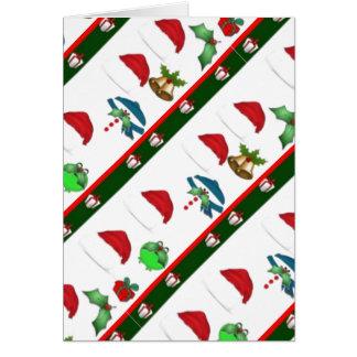 Santa hat Christmas Card