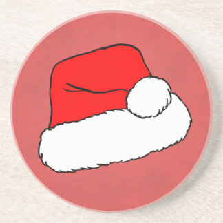 Santa Hat - Christmas Coaster