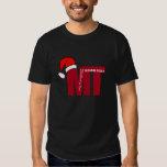 Santa Hat Christmas  MT (Medical Technologist) T-Shirt
