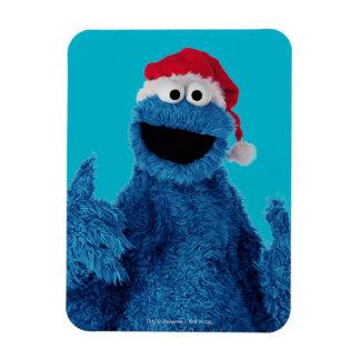 Santa Hat Cookie Magnet