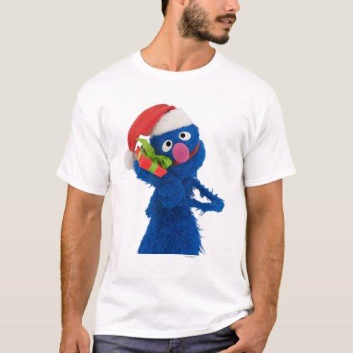 Santa Hat Grover T_Shirt