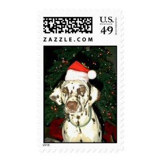 Santa Hat Hannah Stamp