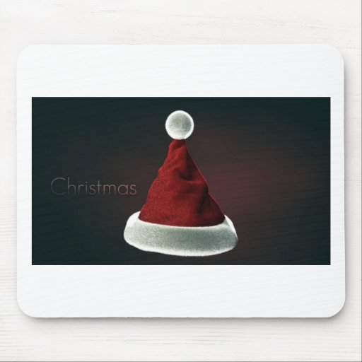 Santa Hat! Mouse Pads