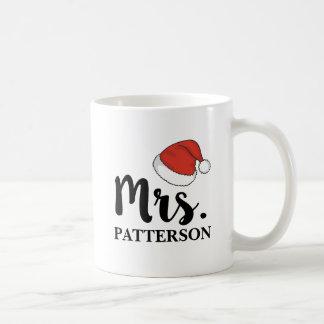 Santa Hat Mrs. Mug