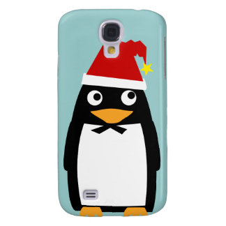 Santa Hat Penguin Cell cover - HTC Vivid