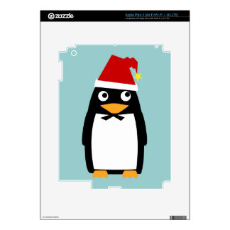Santa Hat Penguin - iPad 3 Skin