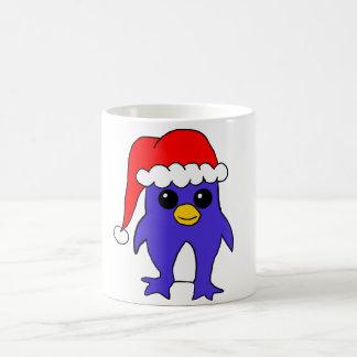 Santa hat Penguin mug