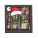 Santa Hat Slot Machines Premium Keepsake Boxes