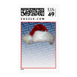Santa Hat Template Christmas Stamp