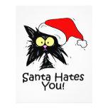 "Santa Hates You 8.5"" X 11"" Flyer"