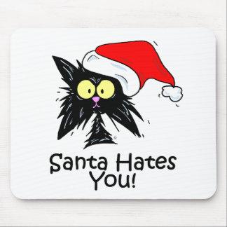 Santa Hates You Mouse Pad