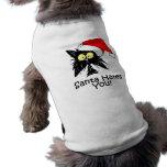 Santa Hates You Pet Shirt