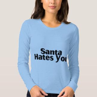 Santa Hates You Shirt