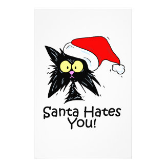 Santa Hates You Stationery