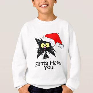 Santa Hates You Sweatshirt