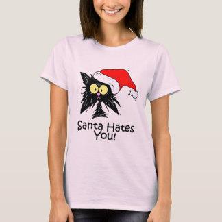 Santa Hates You T-Shirt