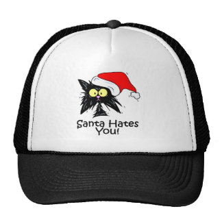 Santa Hates You Trucker Hat