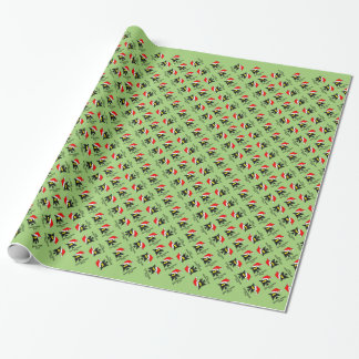 Santa Hates You Wrapping Paper
