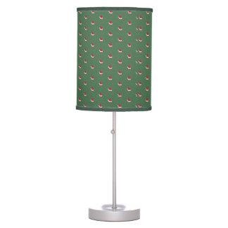 Santa Hats Lamp by Leslie Harlow