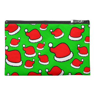 Santa Hats Travel Accessory Bag