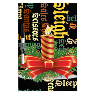 Santa Have a Nice Day and a Better Night.jpg Dry-Erase Boards