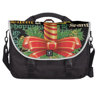 Santa Have a Nice Day and a Better Night.jpg Laptop Commuter Bag