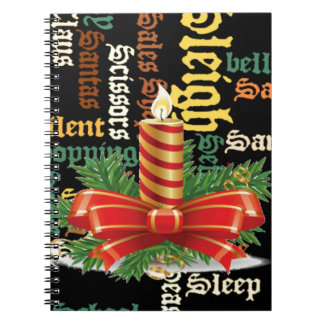 Santa Have a Nice Day and a Better Night.jpg Spiral Note Book