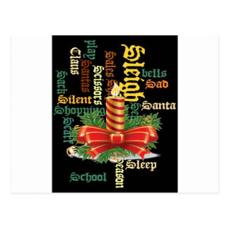 Santa Have a Nice Day and a Better Night.jpg Postcard