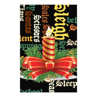 Santa Have a Nice Day and a Better Night.jpg Stationery Paper