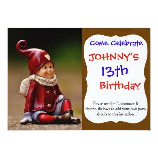 Santa helper - happy christmas - gnome card