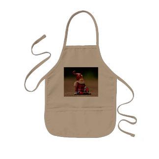 Santa helper - happy christmas - gnome kids' apron