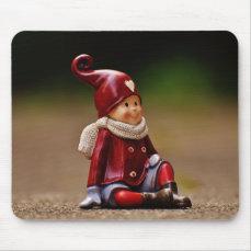 Santa helper - happy christmas - gnome mouse pad