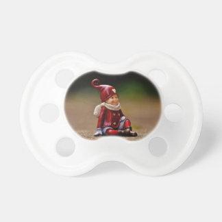 Santa helper - happy christmas - gnome pacifier