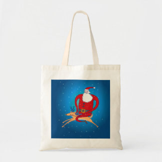 Santa & his favorite reindeer  Bag