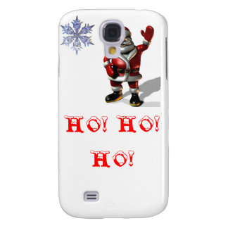 Santa Ho ho ho Galaxy S4 Cases