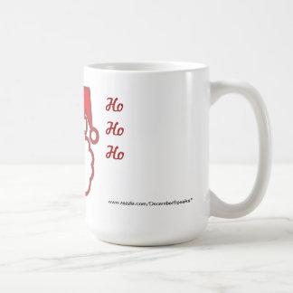 Santa-Ho Ho Ho Classic White Coffee Mug
