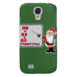 Santa ho ho ho merry christmas samsung galaxy s4 cases
