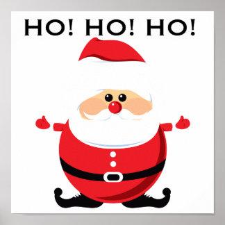 Santa Ho Ho Ho Poster