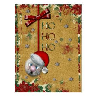 Santa Ho ho ho Postcards