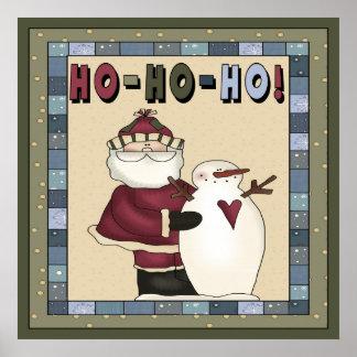 Santa Ho-Ho-Ho Poster