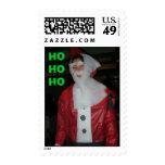 """Santa """"hohoho """" franqueo"""
