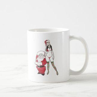 Santa, hohohoe classic white coffee mug