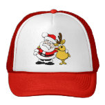 Santa Holiday Christmas Party Destiny Celebration Mesh Hat