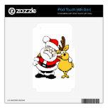 Santa Holiday Christmas Party Destiny Celebration Skin For iPod Touch 4G